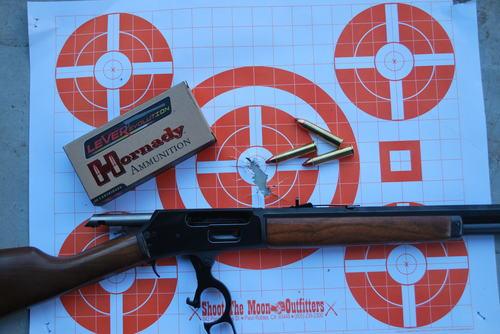 range target for Marlin 1895 in .45-70