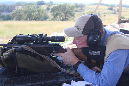 target shooting, steel targets, Weatherby Magnum