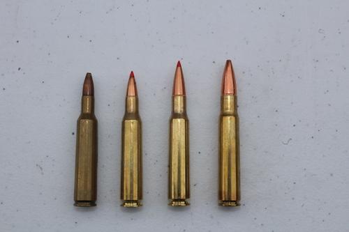 Remington and Roberts cartridges