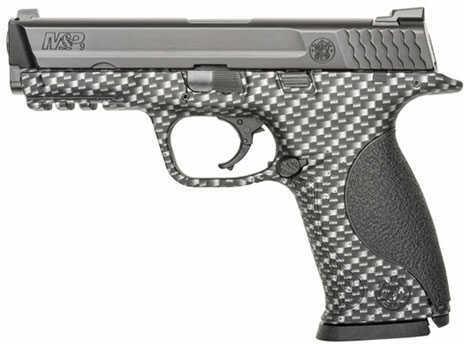 "Pistol Smith & Wesson M&P 9mm Luger 4.25"" Barrel 17rd Full Size CARBON FIBER 10121"