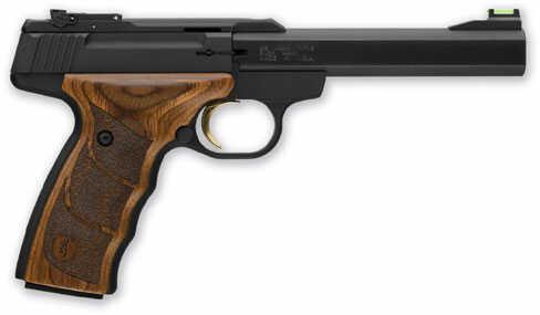 Browning BUCK MARK PLUS 22LR Semi-Auto Pistol  UDX 22 Long Rifle  ABS Case 10 Round Tru Glo Fiber Optic Sights  Aluminum Alloy Frame 051496490