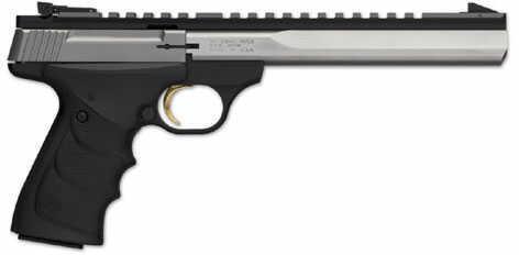 "Browning Buck Mark Semi-Auto Pistol Contour Stainless Steel 22LR 7.25"" Barrel URX 051508490"