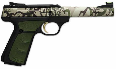 Browning Buck Mark Buckthorn Tan Camo 22 Long Rifle Semi Automatic Pistol 051509490