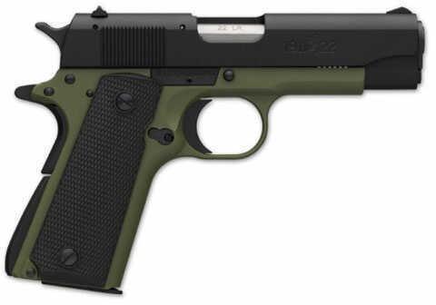 "Browning 1911-22 A1  OD Green Composite Receiver  22 Long Rifle  Pistol 4.25""Matte Barrel Single Stack Mag  051830490"