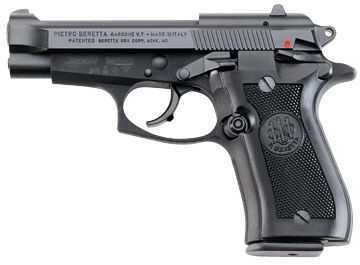 "Beretta 84 Cheetah 380 ACP 4"" Barrel 10 Round Capacity Black Semi-Auto Pistol J84F200"