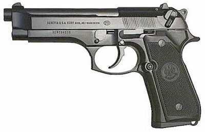 "Beretta 92FS 9mm Luger 4.9"" Barrel 15 Round Capacity Black Pistol J92F300M"