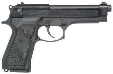 """Beretta M9 9mm Luger 4.9"""" Barrel 15 Round Black Semi Automatic Pistol J92M9A0M"""