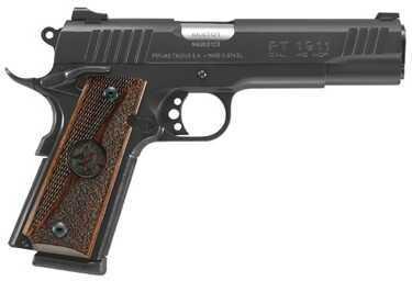 """Taurus PT1911 45ACP 5"""" Barrel 8 Round Bull's Head Walnut Grip Semi Automatic Pistol 1191101BHW"""