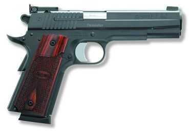 Sig Sauer 1911 45 ACP Target Adjustable Target Sights Rosewood Grip Semi Automatic Pistol 191145BTGT
