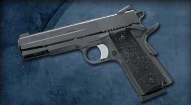 Sig Sauer 1911 45ACP Black Stainless Steel Ergo XT Grip 2- 8 Round Mags Semi Automatic Pistol 191145BXO