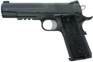 Sig Sauer 1911 45 ACP Tacops Black Stainless Steel Ergo XT Grips Pistol 1911R45TACOPS