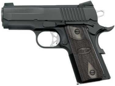 Sig Sauer 1911 Ultra Compact 45ACP Black Nitron Stainless Steel Lpow Profile Night Sights Semi Automatic Pistol 1911U45BSS