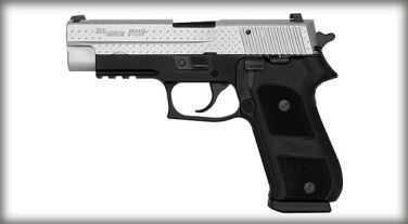 Sig Sauer P220 45 ACP Diamond Plate Duotone Rail Semi Automatic Pistol 220R45DP