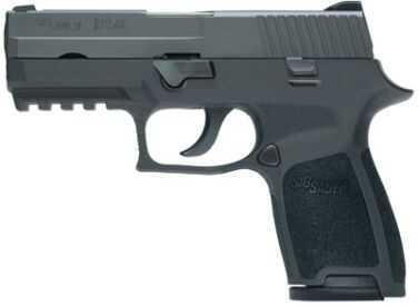 Sig Sauer P250 Compact 9mm Luger 10 Round Pistol 250C9BSS10