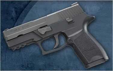 Sig Sauer P250 Sub Compact 40 S&W 10 Round Semi-Automatic Pistol 250SC40B