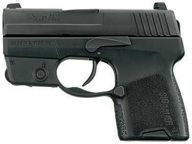 Sig Sauer P290 9mm Luger Laser Module 1 6 Round Pistol 2909BSSL