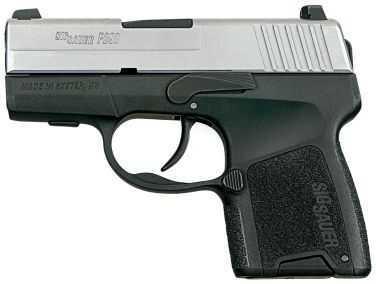 Sig Sauer P290 9mm Luger Duotone 1 6Rd Pistol 2909TSS
