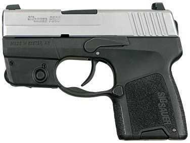 Sig Sauer P290 9mm Luger Duotone Laser Module 1 6Rd Pistol 2909TSSL
