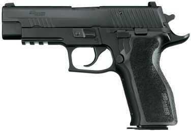 Sig Sauer P226 357 Sig Sauer Enhanced Elite Black E2 Polymer Semi Automatic Pistol E26R357ESE
