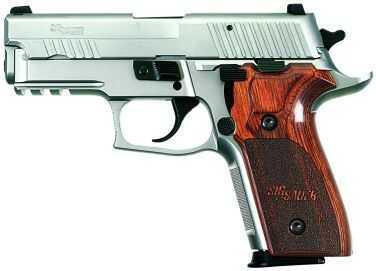 Sig Sauer P229 9mm Luger Elite Stainless Steel Beavertail SRT 2 15 Round Pistol E29R9SSE