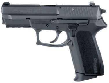 Sig Sauer Pro 9mm Luger Tactical Rail 2 10 Round 2 Grips Pistol SP20229BSS