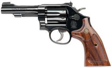 "Smith & Wesson Revolver 48 22 Magnum 4"" Barrel 6 Round Blue Wood Grip 150717"