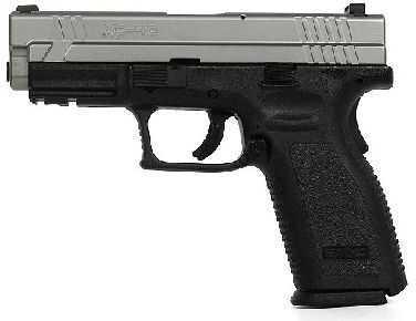 "Springfield Armory XD 40 S&W 4"" Barrel Duo-tone Trijicon Sights Semi-Automatic Pistol XD9312HCSP06"