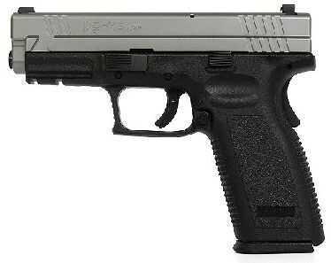 "Springfield Armory XD 45 ACP 4"" Barrel Duotone Trijicon Sight Semi Automatic Pistol XD9633HCSP06"