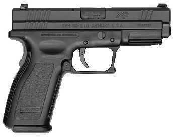 "Springfield Armory XD 45 ACP 4"" Barrel Duotone Thumb Safety Semi Automatic Pistol XD9663HCSP"