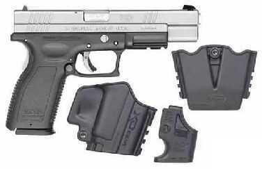 Springfield Armory XD 45 ACP Duotone Thumb Safety High Capacity Semi Automatic Pistol XD9666HCSP