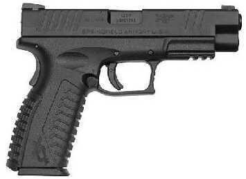 "Springfield Armory XDM 40 S&W 4.5"" Barrel 16 Round 2 Magazines Black Semi Automatic Pistol XDM9202HCSP"