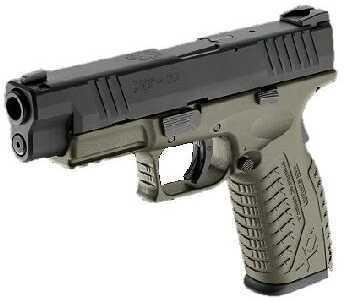 "Springfield Armory XDM 9mm Luger 4.5"" OD Black Slide Pistol XDM9231HCSP"