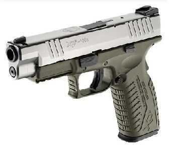 Springfield Armory XDM 40 S&W OD Stainless Steel 16 Round Semi Automatic Pistol XDM9242HCSP