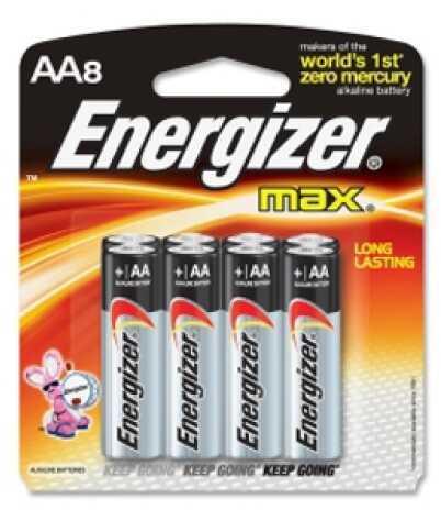 Energizer Premium Max Batteries AA (Per 8) E91BP-8x