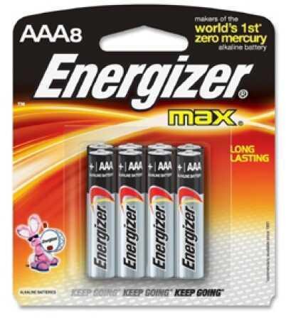 Energizer Premium Max Batteries AAA (Per 8) E92MP-8