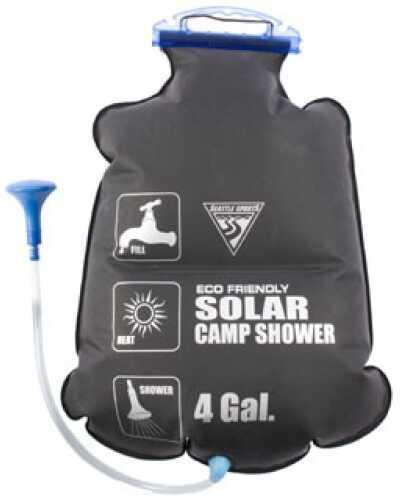 Seattle Sports PVC Free Solar Shower 4 Gallons, Black 031115
