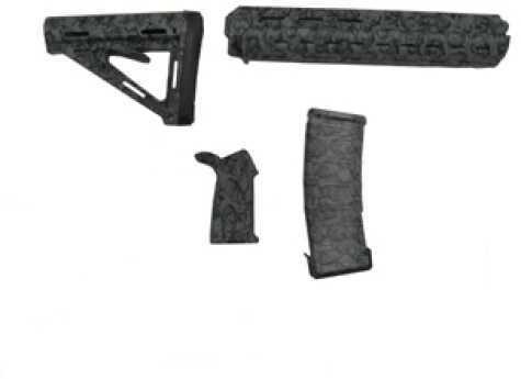 Black Dawn Zombie Rifle Furniture Kit Green 401RZG