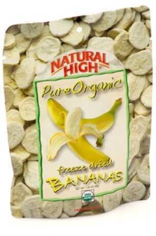 Natural High Organic Bananas 36006