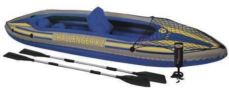 Intex Challenger Kayak Kit K2 Kayak Kit, GearNet 68306EP