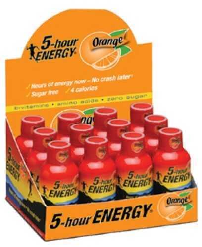 5-Hour Energy Drink, Original, Per 12 Orange 318120