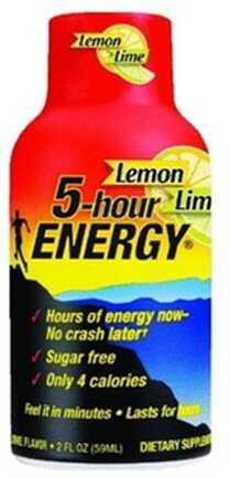 5-Hour Energy Drink, Original, Per 12 Lemon Lime 418127