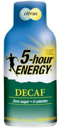 5-Hour Energy Drink Citrus Decaf, Per 12 618121