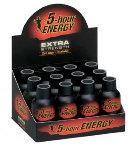 5-Hour Energy Drink, Extra Strength, Per 12 Berry 718128