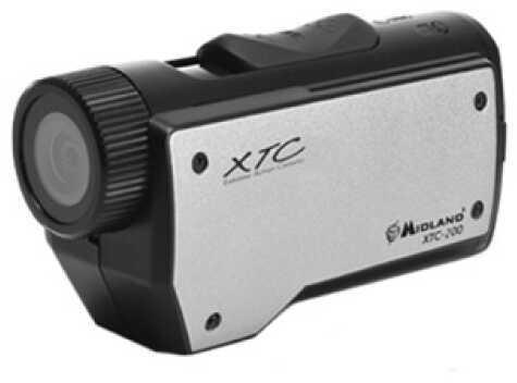 Midland Radios 720P HD Action Cam w/4 Mounts USB AC/DC Charger XTC200VP3