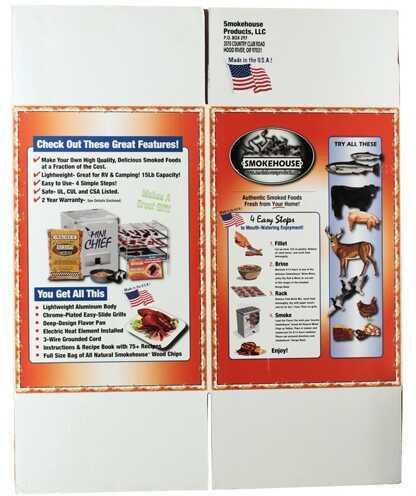 Smokehouse Product Mini Chief Carton 9801-988-0000