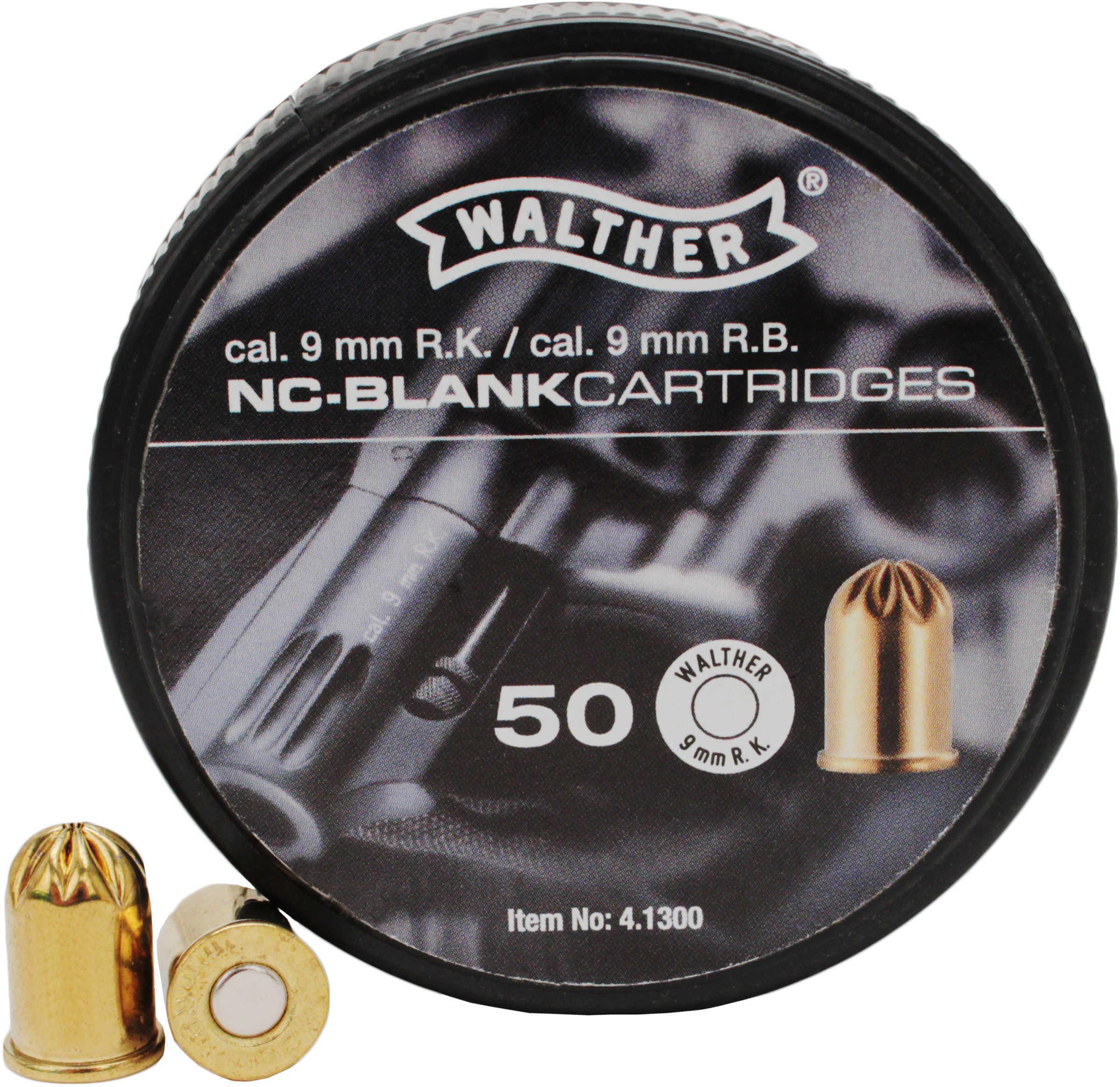 Umarex USA Blanks Blank 9mm R.K. Revolver (Per 50) 2252752