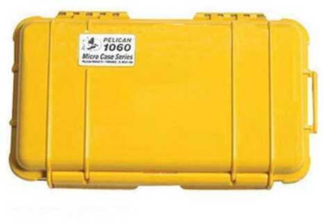 Pelican Micro Case 1060 Yellow w/Black Liner 1060-025-240