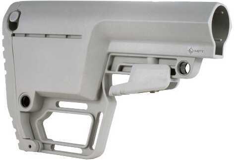 Mission First Tactical AR-15 Battlelink Utility Stock Mil-Spec Grey Md: BUSMILGY