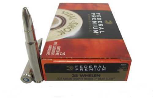 Federal Cartridge 35 Whelen 225Gr. Trophy Bond/20 P35WT1