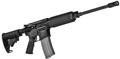 "Del-Ton DT Sport AR-15 5.56mm NATO 16"" Barrel Adjustable Stock LP Gas Block 30 Round Mag Semi-Automatic Rifle ORDTSPORT"